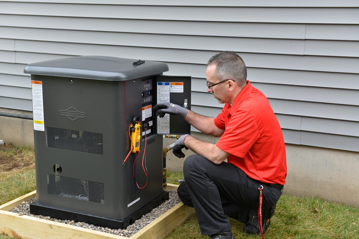 The Power to Add Peace of Mind with Standby Generators